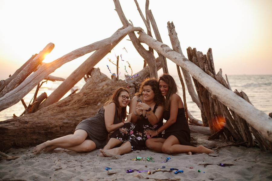servizio fotografico compleanno in spiaggia rovigo venezia veneto